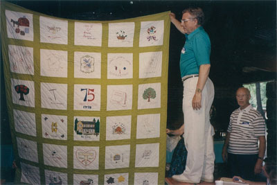 75th Anniversary Quilt