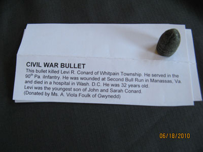 Civil War Bullet