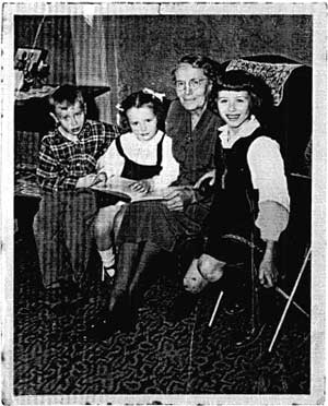 Martha Van Doren and Grandchildren